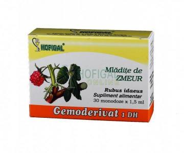 Gemoderivat Mladite De Zmeur 30 monodoze*1.5 ml